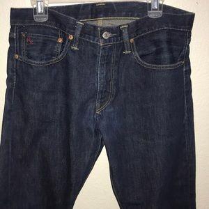 Men's Ralph Lauren dark wash jeans!